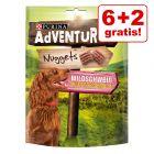 6 + 2 gratis! 8 x 300 g Purina AdVENTuROS Nuggets