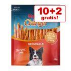 10 + 2 gratis 12 x 250 g Rocco Chings Originals - Strisce da masticare