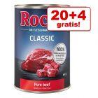 20 + 4 gratis! 24 x 400 g Rocco Classic