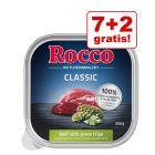 7 + 2 gratis! 9 x 300 g Rocco Classic Schale