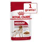 19/23 + 1 gratis! 20 x 140 g sau 24 x 85 /195 g  Royal Canin hrană umedă câini