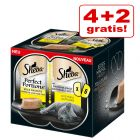 4 + 2 gratis! 6 x 37,5 g Sheba Perfect Portions