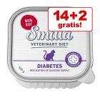 14 + 2 gratis! 16 x 100 g Smilla Veterinary Diet