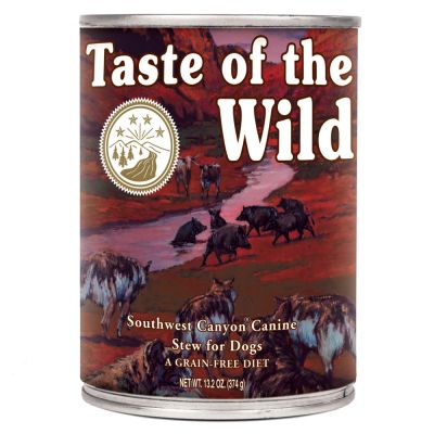 10 + 2 gratis! 12 x 390 g Taste of the Wild