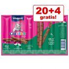 20 + 4 gratis! 24 x 6 g Vitakraft Cat Stick