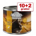 10 + 2 gratis! 12 x 200 g Wild Freedom Adult