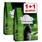 1 + 1 gratis! 2 x 400 g Wild Freedom katten droogvoer