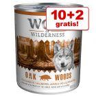10 + 2 gratis! 12 x 800 g Wolf of Wilderness