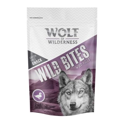 2 + 1 gratis! 3 x 180 g Wolf of Wilderness Snack - Wild Bites