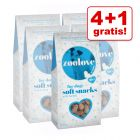 4 + 1 gratis! 5 x 100 g zoolove Soft Snack - Winter edition
