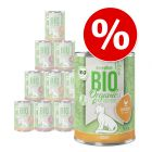 18 + 6 gratis! 24 x 400 g zooplus Bio