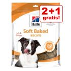 2 + 1 gratis! 3 x Hill's Hundesnacks