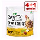 4 + 1 gratis! 5 x 1,2 kg Beyond Grain Free