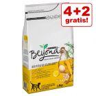 4 + 2 gratis! 6 x 1,4 kg Beyond Katzenfutter