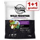 1 + 1 gratis! 2 x 1,4 kg Nutro hundetørfoder