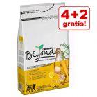 4 + 2 gratis! 6 x 1,4 kg Purina Beyond kattefoder