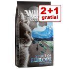 2 + 1 gratis! 3 x 2 kg Wild Freedom tørfoder
