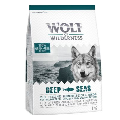 2 + 1 gratis! 3 x 1 kg Wolf of Wilderness