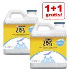 1 + 1 gratis! 2 x 7 l / 20 l Purina Tidy Cats Lightweight Klumpstreu Ocean Freshness