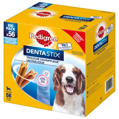 100 + 40 gratis! 140 x Pedigree Dentastix