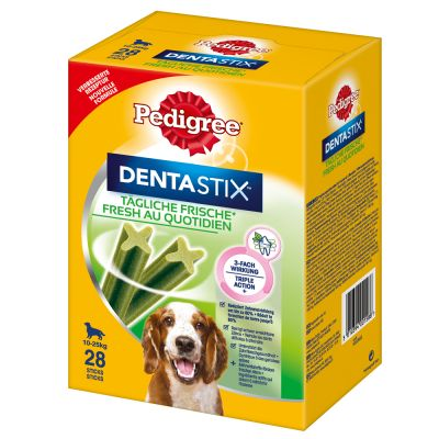 100 + 12 gratis! 112 x Pedigree Dentastix