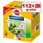 112 + 28 gratis! 140 x Pedigree Dentastix Fresh Daily Freshness