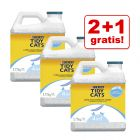 2 + 1 gratis! 3 x Purina Tidy Cats Lightweight