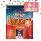 10 + 2 gratis 12 x Rocco Chings Originals - Strisce da masticare