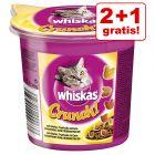 2 + 1 gratis! 3 x Snack Whiskas