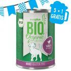 5 + 1 gratis! 6 x zooplus Bio Tacchino con Zucca & Zucchine