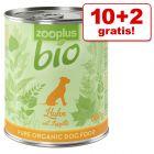 10 + 2 gratis! zooplus Bio 12 x 800 g