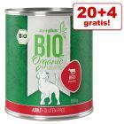 20 + 4 gratis! zooplus Bio 24 x 800 g