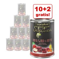10 + 2 gratis! zooplus Selection, 12 x 400 g