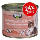 Grau Gourmet viljaton -säästöpakkaus 24 x 200 g