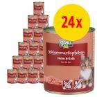 Grau Gourmet viljaton -säästöpakkaus 24 x 800 g