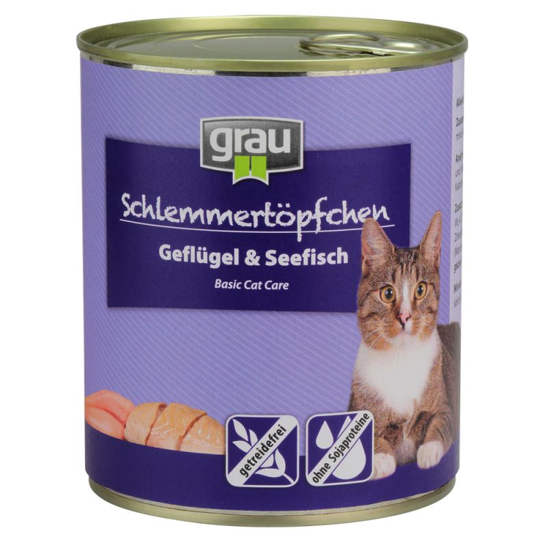 Grau Gourmet, viljaton 6 x 800 g