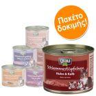Μεικτό Πακέτο Δοκιμής Grau Gourmet Χωρίς Δημητριακά 6 x 200 g