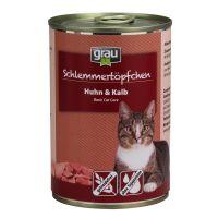 Grau menu gourmand sans céréales 6 x 400 g pour chat