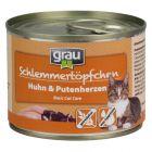 Grau Smulpotje Graanvrij Kattenvoer 6 x 200 g