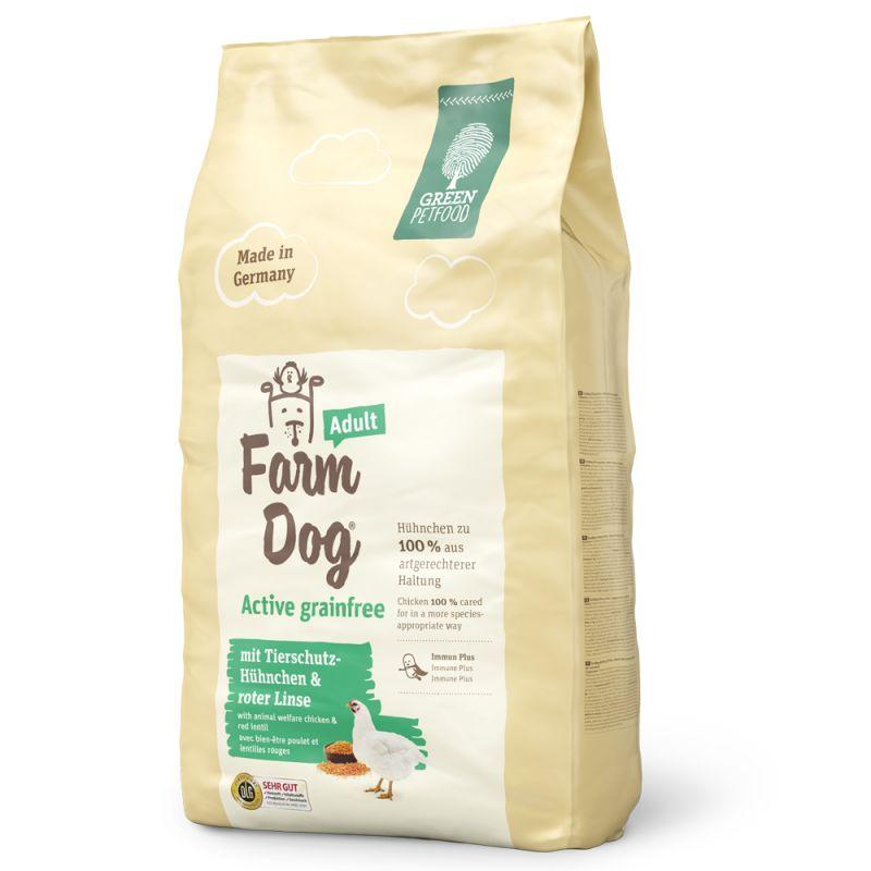 Green Petfood FarmDog Active Grainfree pienso para perros