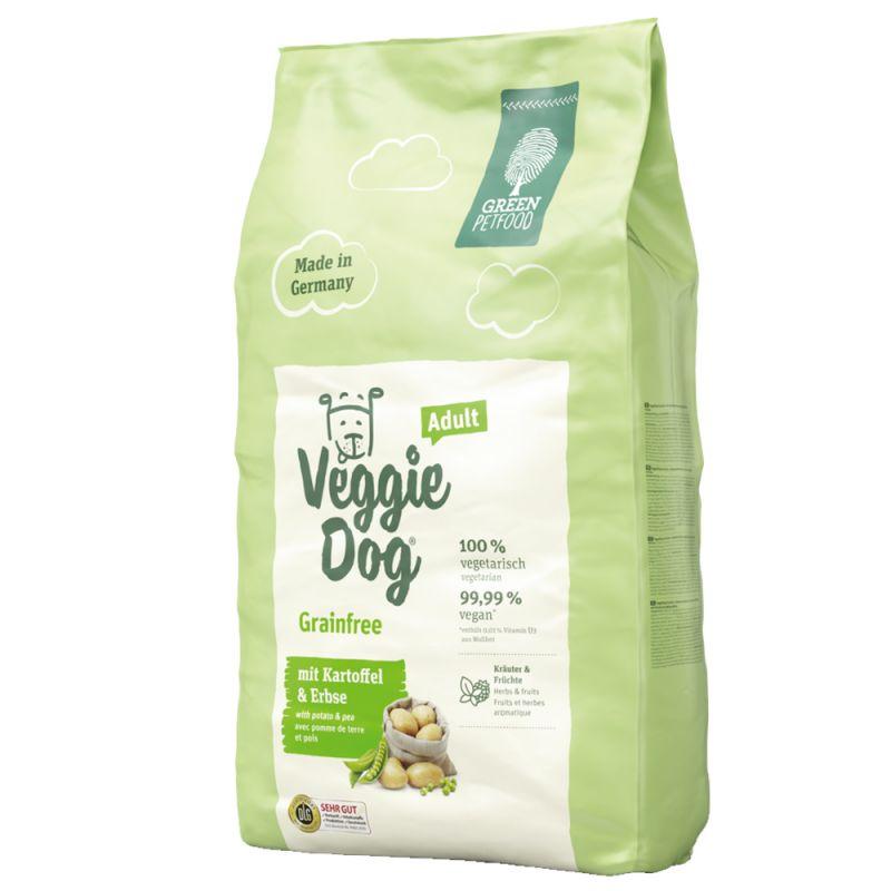 Green Petfood VeggieDog Grainfree pienso vegetariano para perros