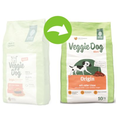 Green Petfood VeggieDog Origin