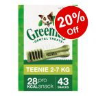 Greenies Canine Dental Chews - 20% Off!*