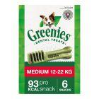 Greenies Medium przysmak pielęgnujący zęby dla psów
