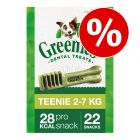Greenies snacks dentales para perros 170 g / 340 g - Pack Ahorro