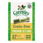 Greenies snacks dentales sin cereales para perros 170 g