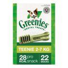 Greenies snacks dentários para cães 170 g / 340 g