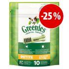 Greenies snacks para cães a preço especial!