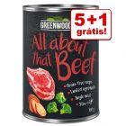 Greenwoods Adult comida húmida 6 x 400 g em promoção: 5 + 1 grátis!