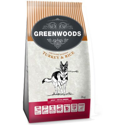 Greenwoods Adult Tacchino & Riso